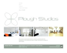 Plough Studios website